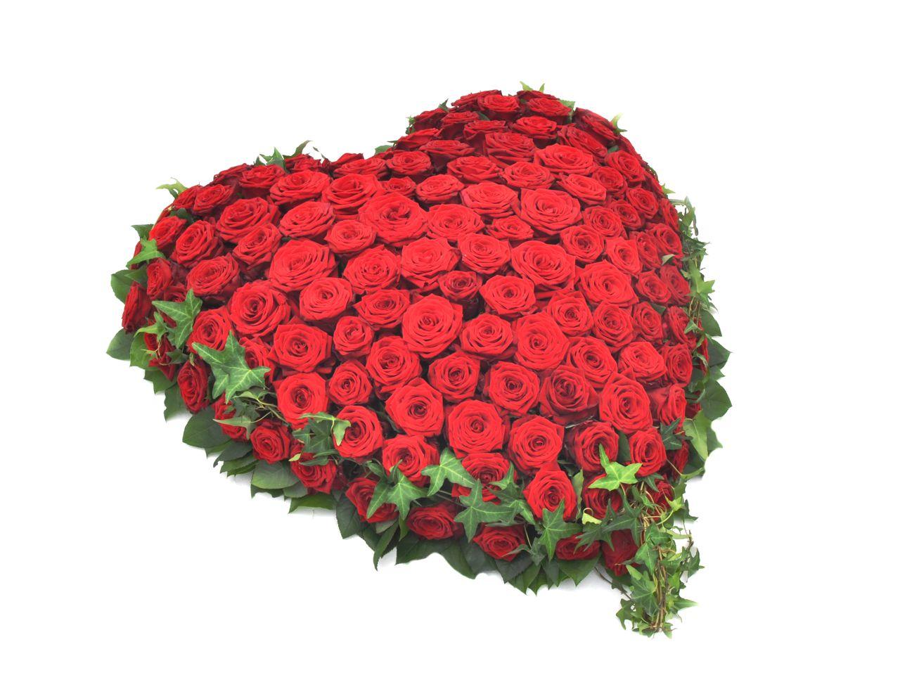 herz mit roten rosen  fötschl blumen wien  gärtnerei